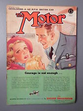 R&L WW2 Vintage Mag: The Motor 1941 July 30, V12 Lagonda/Ford Prefect/War News