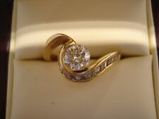 TOP Ring 750 Gold 18 Diamanten ca.1,50 ct Anello Or Oro 18 K ca. 4,8 Gramm