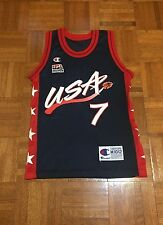 VTG United States Basketball Team David Robinson #7 Youth M Champion Jersey
