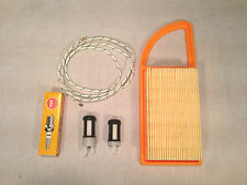 STIHL SERVICE KIT FITS BR600 BR550 BR500 BACKPACK BLOWER FILTERS PLUG PULL ROPE