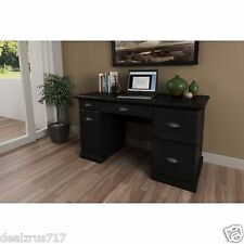 Home Office Computer Desk Workstation Table Modern Executive Wood Furniture  New