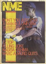NME NEWSPAPER COVER FOR 20/8/1983 RYUICHI SAKAMOTO AS CAPTAIN YONOI