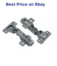 (2X) PAIR OF 26 mm HINGES,  SELF-CLOSE, CLIP-ON, SOFT-CLOSE HINGE