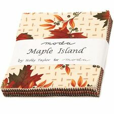 Maple Island Charm Pack by Holly Taylor for Moda Fabrics