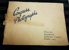 Vintage 1932 Thirty-first International Eucharistic Congress Dublin Booklet