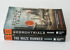 Lot of 2 (#1-2) MAZE RUNNER Series Matched Set of Paperback Books James Dashner
