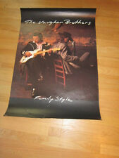 VAUGHAN BROTHERS Family style promo poster 24x36