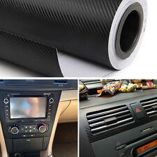 "15"" X 39"" DIY Auto Car 3D Carbon Fiber Vinyl Wrap Roll Film Sheet Decal Sticker"