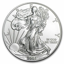 2002 Silver American Eagle - NEW Uncirculated Sealed Littleton Coin Company NIP