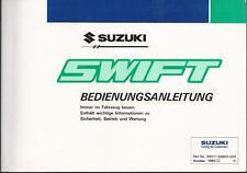 SUZUKI   SWIFT  2   Typ EA   Betriebsanleitung   1993   Bedienungsanleitung   BA