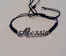 BRACCIALE  CON NOME : ALESSIA