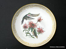 Edward Marshall Boehm Humming Bird Plate Collection BROAD TAILED HUMMINGBIRD