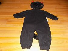 Size 18 Months - 2T Tom Arma Black Orange Kitty Cat Kitten Halloween Costume EUC
