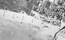 6x4 Photo ww763 Normandy D-Day Jb Juno Beach Vue Aerienne Nan Green Wn 29