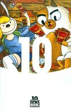 Adventure Time Fionna & Cake Card Wars #1 Brown 10 Year Variant (Boom, 2015)