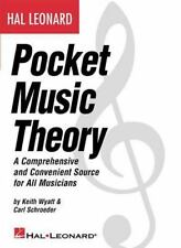 Music Reference Ser. Music Theory: Pocket Music Theory : A Comprehensive and...