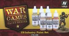 US Infantry: 6 Paint Set for Model American WW2 Soldiers (Vallejo 70160)