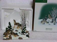 Dept 56  Wolves In the Woods 52765