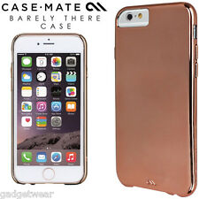 Case-Mate Barely There Slim Rear Case Cover for Apple iPhone 6 & 6S in Rose Gold