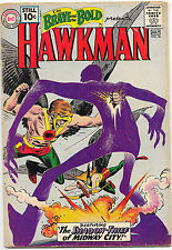 Brave and the Bold #36 DC Comics 1961 3rd Silver Age Hawkman VG