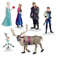 Fun 6pcs Movie Frozen Cake Toppers Action Figures Doll Kids Children Xmas Toy