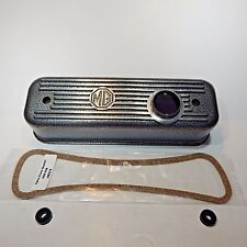 New Crackle Wrinkle Finish Alloy Valve Cover for MGA MGB 1955-1980