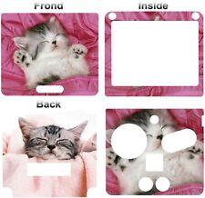 CAT PET CUTE SKIN STICKER VINYL Cover Nintendo GBA SP 1