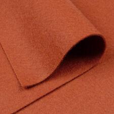 "9""x18"" Chestnut Brown Wool Felt Fabric / card toy bear doll making reindeer"