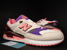 NEW BALANCE M530WST M530 530 WEST NYC PROJECT CREAM WHITE PURPLE INFRARED 10.5
