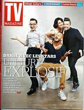 TV MAGAZINE N°21810 21 SEPTEMBRE 2014  DANSE AVEC LES STARS/ BARDOT/ M POKORA