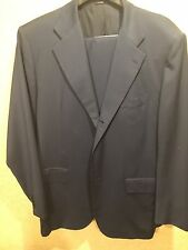 Kiton Men's Suit 44R 54R Italian Blue $5,000 3 Button