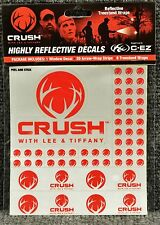 C-EZ Red CRUSH Highly Reflective Decals 20 Arrow Wrap Strips 8 Treestand Wraps