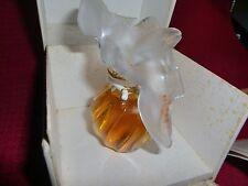 Vintage L'Air Du Temps Perfume 1.0 oz. Two Lalique Dove Top *in orginal box* !