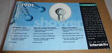 HANSGROHE 1901 ThermoPlus Thermostatic Valve Shower Trim 06610000, Chrome, NEW