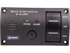 Bilge Pumpe Lenzpumpen Bedienpaneel mit Alarm und beleuchteter Kippschalter  12V