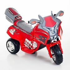 Lil Rider Top Racer Sport Bike - Red Motorcycle Battery Operated