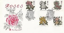 (81754) GB Mercury FDC Roses - Belfast Rose Convention 16 July 1991