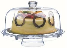 Rammento Multifunctional 5 in 1 Cake Stand and Dome. Cake Dome, Salad Punch Bowl