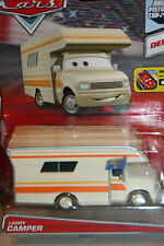 "DISNEY PIXAR CARS 2 ""LARRY CAMPER"" NEW IN PACKAGE, DELUXE MODEL, SHIP WORLDWIDE"