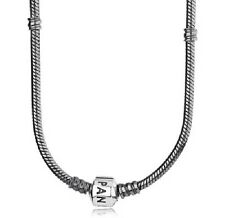 NEW AUTHENTIC PANDORA Oxidized Sterling Silver Necklace 590703OX 19.7inch 50cm