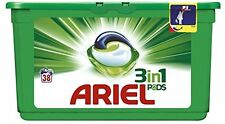 Ariel 3 In 1 Regular Washing Capsules Complete cleaning 114 WashesPack Of 3
