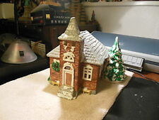 Dept 56 Snow Village's        School House