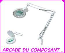 1 LAMPE LOUPE DE TABLE 22W  5 DIOPTRIES - NUMISMATE MONNAIE COLLECTIONNEUR 3,3Kg