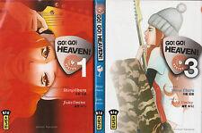 GO! GO! HEAVEN!  tomes 1 à 3 Obara Umino SERIE COMPLETE manga seinen *