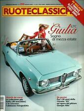 Ruoteclassiche n.200 del 2005 : Alfa Romeo Giulia GTC - Mercedes 540 K - Triumph