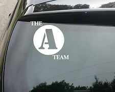 A Team Logo SURF Funny Car/Window JDM VW EURO Vinyl Decal Sticker