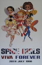 "40x60"" HUGE SUBWAY POSTER~Spice Girls Viva Forever 1998 Butterflies Scary,Posh~"