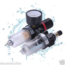 40μm air régulateur de pression huile / eau séparateur piège filtre airbrush compresser un +