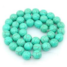 Pretty Turquoise 4mm Round Spacer Natural Gemstone Loose Beads Strand Craft Gift