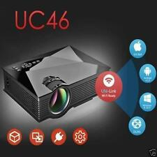 UNIC UC46 LCD Mini Projector 1080P Home Theater 1200Lumens WIFI HDMI TV USB USA